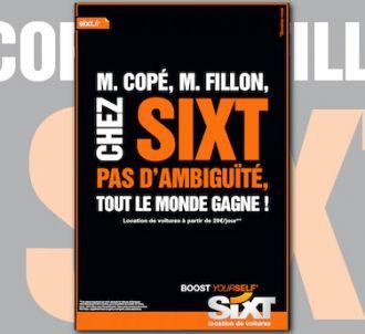 Sixt apostrophe François Fillon et Jean-François Copé