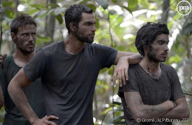 "Ugo, Brice et Charles, candidats de ""Koh-Lanta : Malaisie"" (2012)"