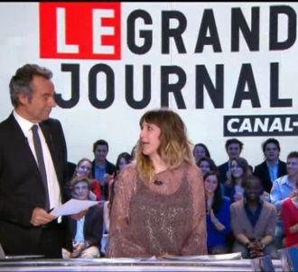 Daphné Bürki, dans 'Le Grand Journal', révèle sa...