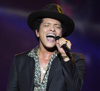 Bruno Mars en tête des charts aux Etats-Unis
