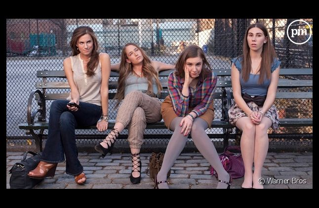 "Le cast de ""Girls"""