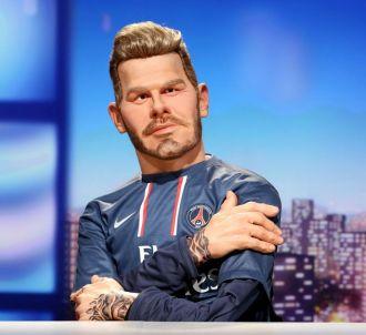 David Beckham dans 'Les Guignols' de Canal+.