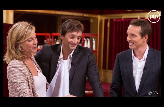 """Michèle Laroque, Pierre Palmade et Stéphane Rotenberg dans """"Top Chef"""""""