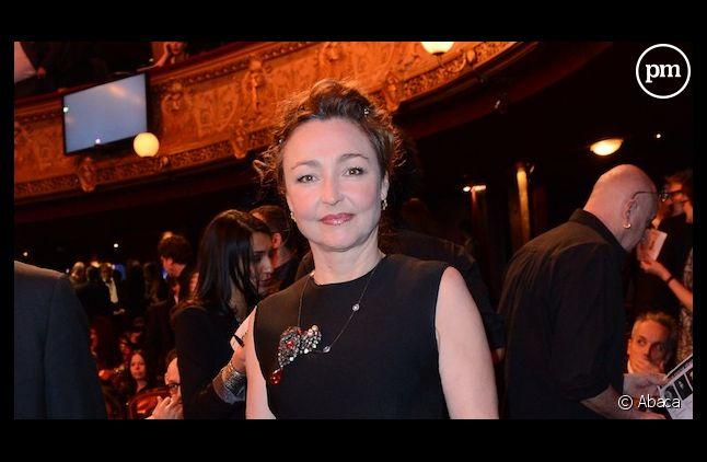 Catherine Frot, actrice la mieux payée de France.