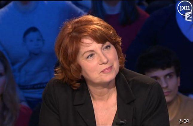 """Véronique Genest sur le plateau d'""""On n'est pas couché"""""""