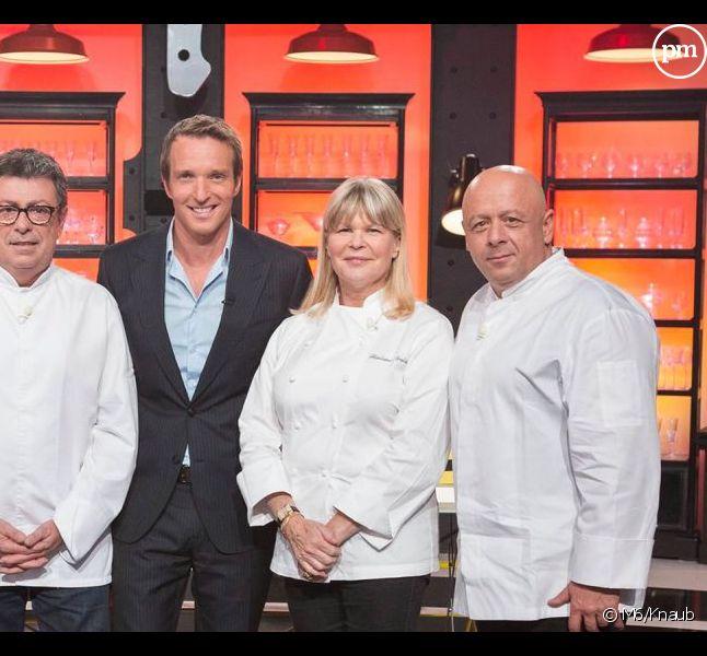 """Le jury et le présentateur de """"Top Chef"""""""