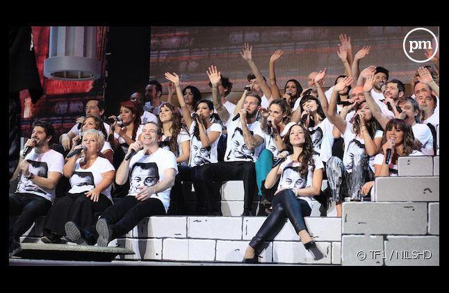"""""""Les Enfoirés"""", une soirée légèrement rentable pour TF1"""