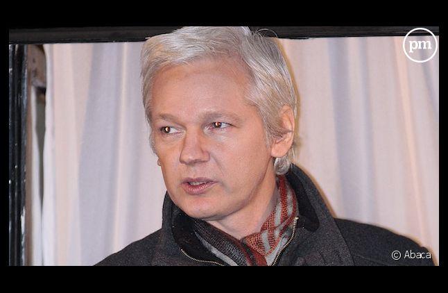 """Julian Assange était l'invité d'""""Europe 1 Soir"""""""