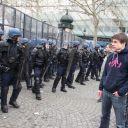 """La """"manif pour tous"""" contre le mariage gay, le 24 mars 2013 à Paris."""