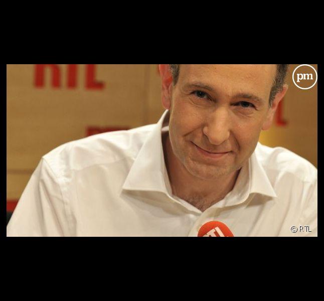 Laurent Bazin, première matinale de France entre janvier et mars 2013.
