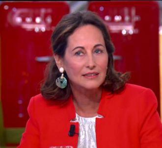 Ségolène Royal dans 'C à vous' sur France 5.