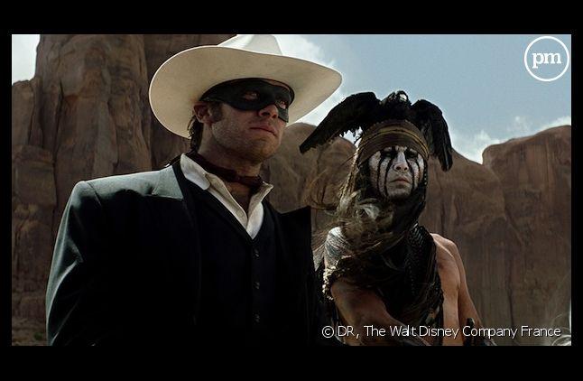 """Johnny Depp, Armie Hammer et Jerry Bruckheimer accusent les critiques d'être responsables de l'échec de """"Lone Ranger"""""""