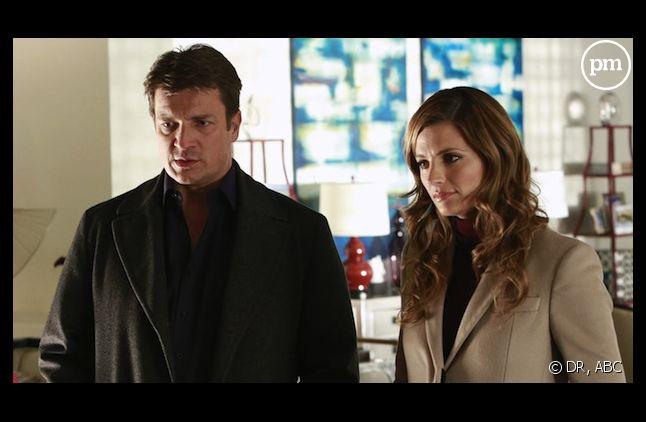 """Nathan Fillion et Stana Katic dans """"Castle"""""""