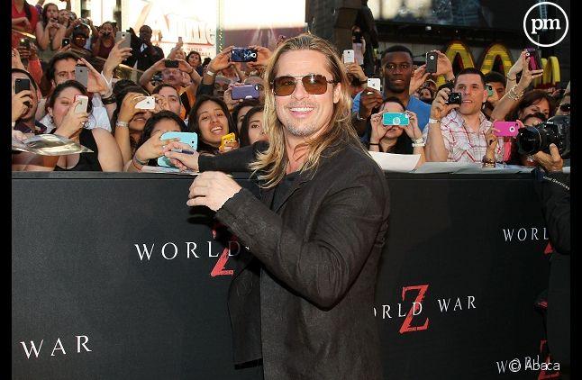 "Brad Pitt au sommet avec ""World War Z"""