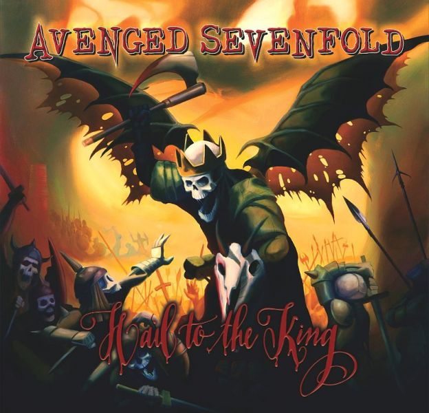 """1. Avenged Sevenfold - """"Hail to the King"""""""