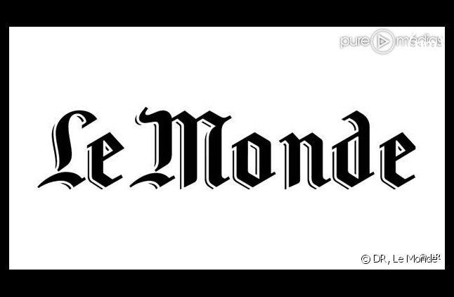 Le logo du <em>Monde</em>