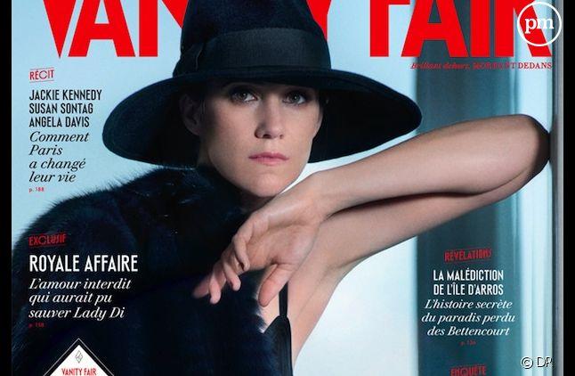 """Charlotte Gainsbourg à la Une de """"Vanity Fair"""""""