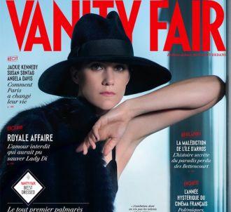 Charlotte Gainsbourg à la Une de 'Vanity Fair'