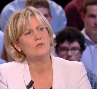 Nadine Morano sur Canal+, le 15 octobre 2013.