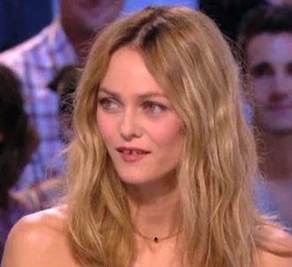 Vanessa Paradis, dans 'Le Grand Journal' sur Canal+.