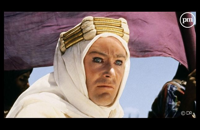 "Peter O'Toole dans ""Lawrence d'Arabie"""