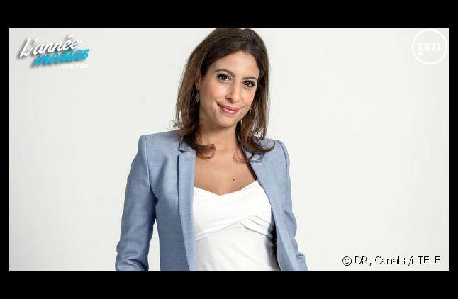 Léa Salamé, journaliste pour i-TELE.