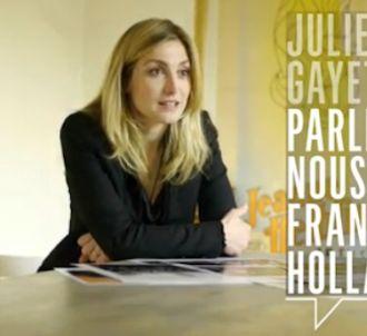 Julie Gayet évoque sa rencontre avec François Hollande