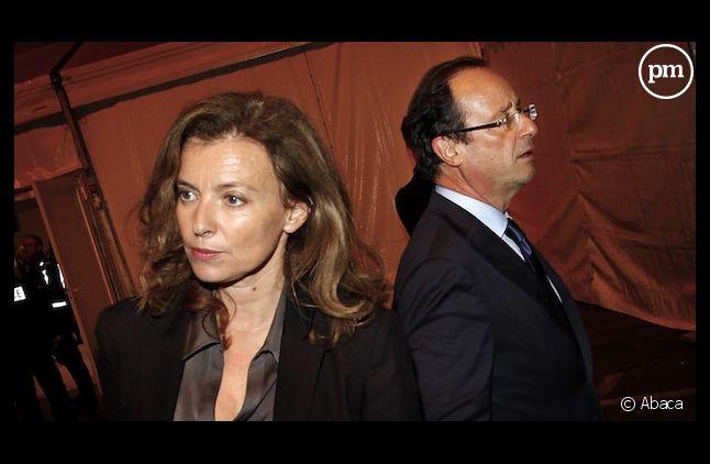 L'Elysée officialise la rupture de François Hollande et Valérie Trierweiler