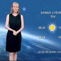 France 3 : Florence Klein a présenté sa dernière météo