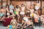 """Polémique """"Tous à poil"""" : 14 libraires posent à poil """"contre la censure"""""""