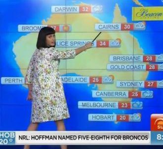 La météo australienne par Katy Perry