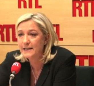 Jean-Michel Aphatie affronte Marine Le Pen sur RTL