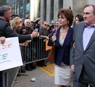 Gérard Depardieu joue DSK dans 'Welcome to New York'
