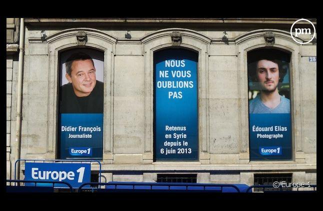 Europe 1 s'est mobilisée pour la libération de Didier François et Edouard Elias.