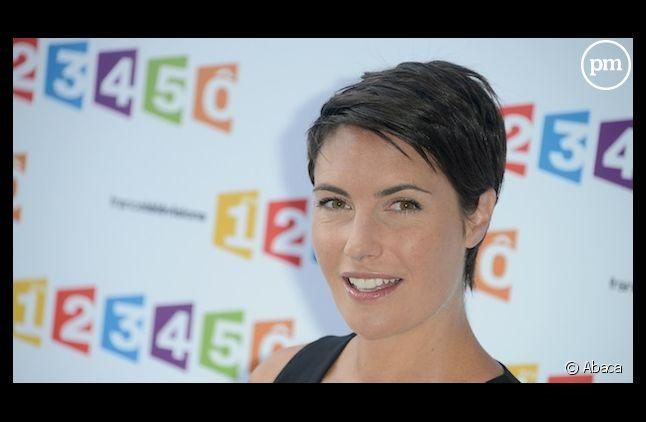 Alessandra Sublet dans les coulisses de Cannes