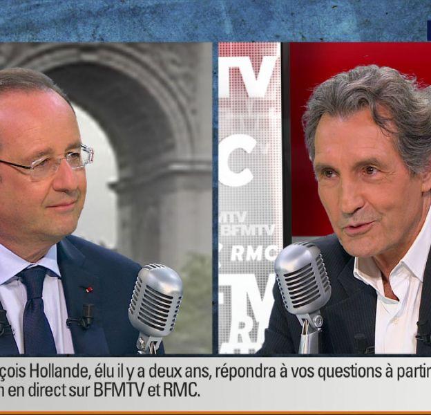 Jean-Jacques Bourdin critique l'interview de Valérie Trierweiler sur Europe 1