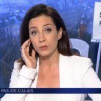 Le plateau du JT de France 3 Nord-Pas-de Calais envahi par des intermittents
