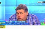Pierre Ménès moyennement emballé par la victoire des Bleus face au Honduras