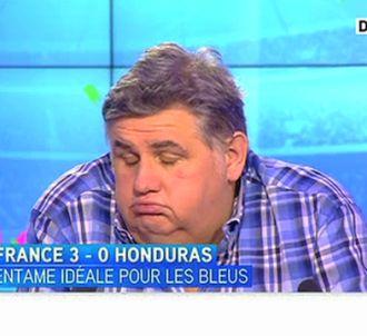 Pierre Ménès, sur i-TELE.