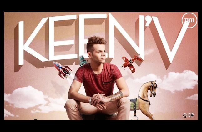 """Keen'V, numéro un du Top Albums avec """"Saltimbanque"""""""