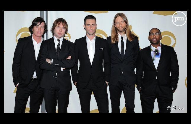 Démarrage timide pour Maroon 5 au Royaume-Uni
