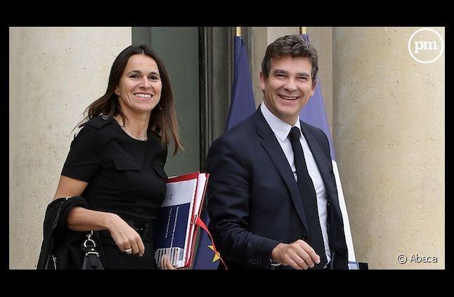 Aurélie Filippetti et Arnaud Montebourg paparazzés en Une de Paris Match