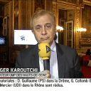Roger Karoutchi, en blond.