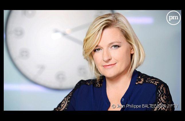 """Anne-Elisabeth Lemoine sera joker d'Anne-Sophie Lapix dans """"C à vous"""" ce soir"""