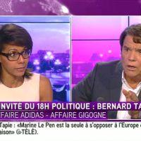 Gros clash entre Audrey Pulvar et Bernard Tapie sur i-TELE