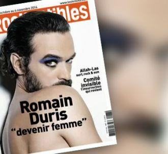 Romain Duris à la Une des Inrocks.