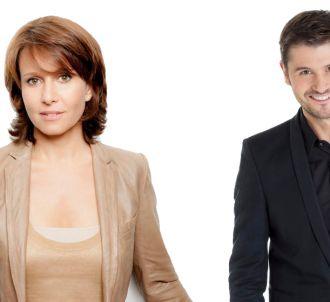 Carole Rousseau et Christophe Beaugrand