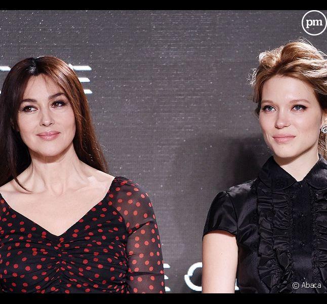 Monica Bellucci et Léa Seydoux
