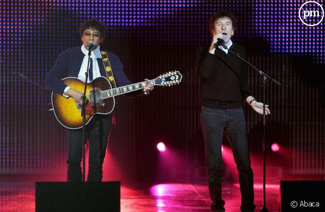 Alain Souchon et Laurent Voulzy détrônés au top albums