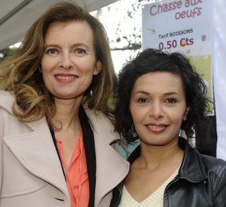 Valérie Trierweiler et Saïda Jawad